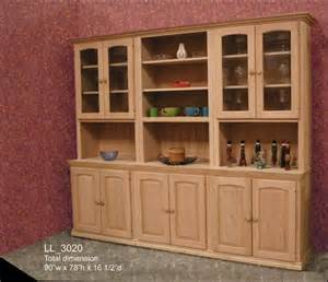 hutch and buffet by inwood furniture gt wood land unfinished