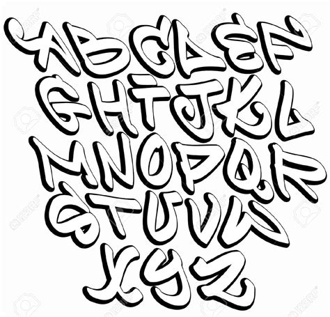 printable alphabet letters in different fonts printable graffiti fonts cool graffiti fonts of the letter