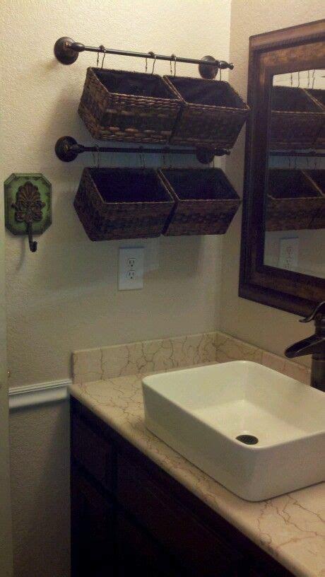 hanging baskets for bathroom best 25 bathroom storage ideas on pinterest bathroom storage diy bathroom