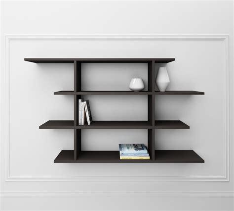 scaffali e librerie design legno libreria twist 004 grigia duzzle