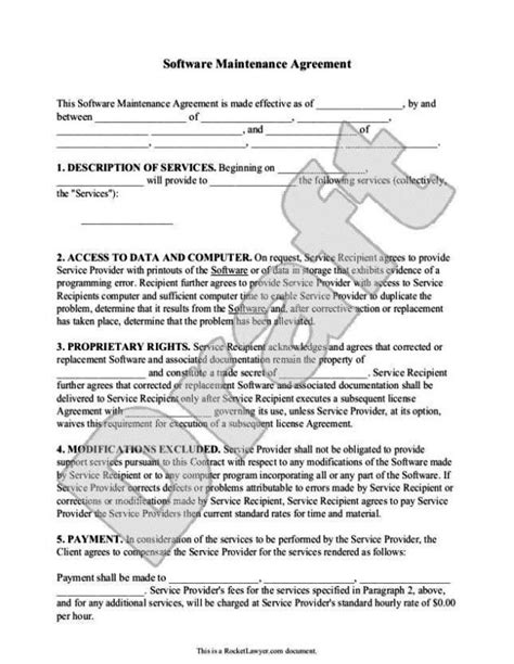 it support service contract template it support contract template sletemplatess