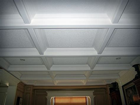 coffered ceiling paint ideas trimwork wills 235 ns cabinetry on