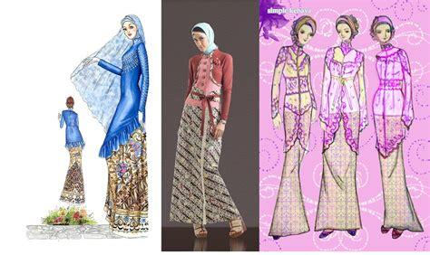 kebaya muslim modern foto gambar baju muslim gambar kebaya muslim modern cantik berbaju muslim