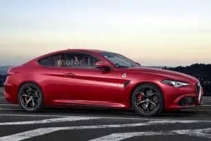 Alfa Romeo Sedan Alfa Romeo Giulia Coupe Quadrifoglio Is Only A Speculative