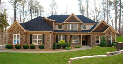 brick homes plans brick house plans traditional brick ranch hwbdo63914 new