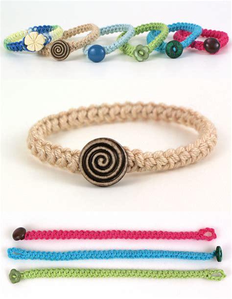 Braiding Cord Patterns - planetjune by june gilbank 187 crochet braid bracelet
