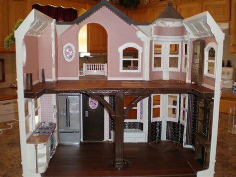 custom barbie doll house custom make over of the barbie victorian dream house by