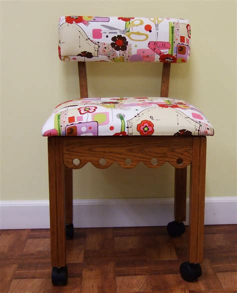 Sewing Chair With Storage by Arrow Mobile Sewing Chair W Storage Compartment Ebay