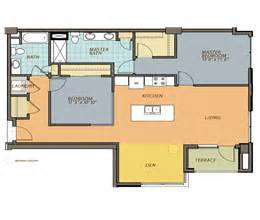 two bedroom plus den apartment floor plan oaks of lake george two bedroom den floor plans ovation 309
