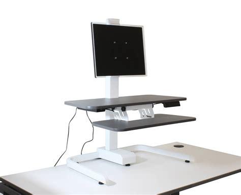 Electronics Workstation Desk by Sit Stand Desktop Workstation Electronic Ergonomic Office
