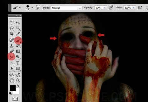 tutorial photoshop horror horror movie poster photoshop tutorial photoshop