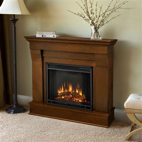 Espresso Electric Fireplace by Real Chateau 41 In Electric Fireplace In Espresso