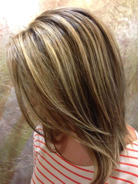 hairstyles with brown hair and blonde highlights brown hair lowlights highlights hair pinterest