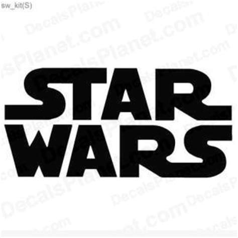 How To Apply A Wall Sticker star wars logo decal vinyl decal sticker wall decal