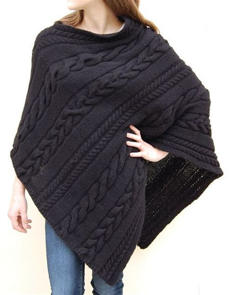 knitted poncho for modern poncho knitting patterns in the loop knitting