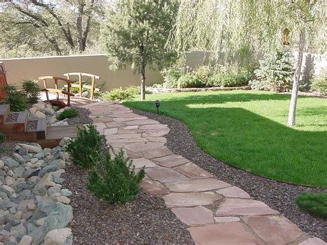 Design Ideas For Flagstone Walkways Flagstone Walkway Laid Pictures