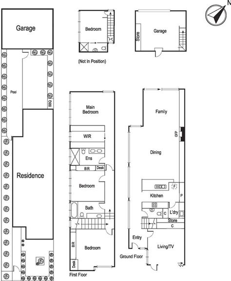 townhouse floor plans australia townhouse floor plan townhouse design pinterest