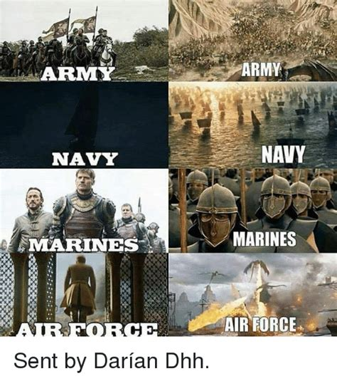 Army Navy Memes - arremy navy marines army navy marines air force sent by