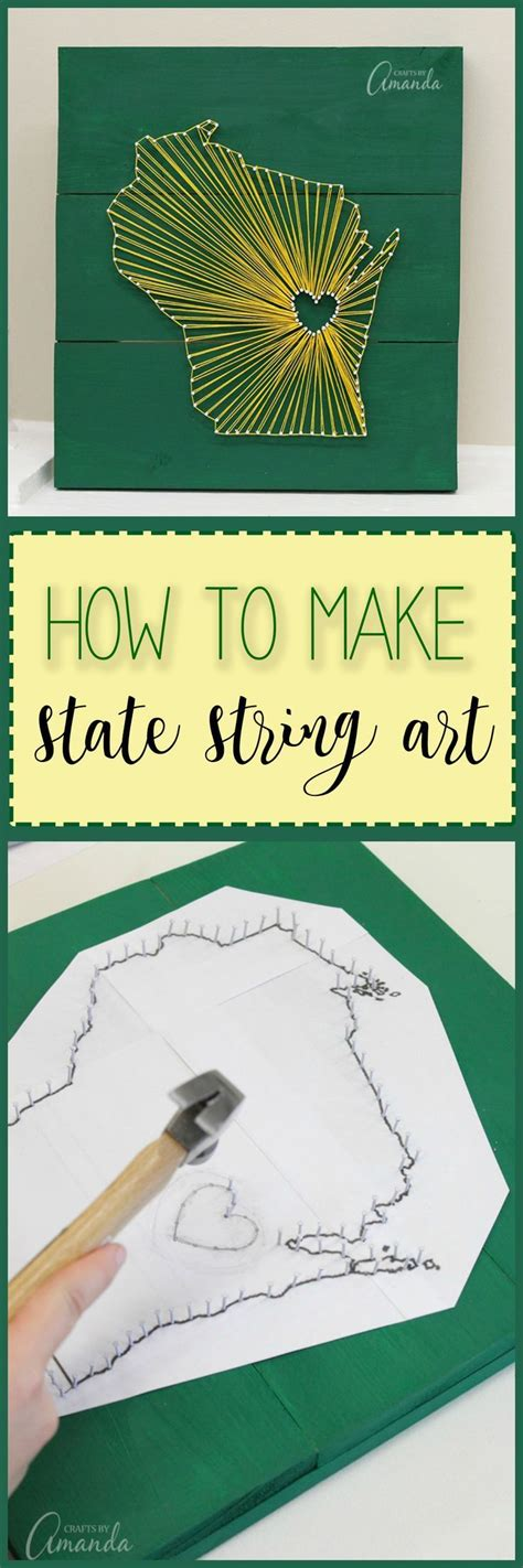 How To Make String State - the 25 best state crafts ideas on state