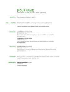 basic resume exle pdf resume template free create edit fill and print