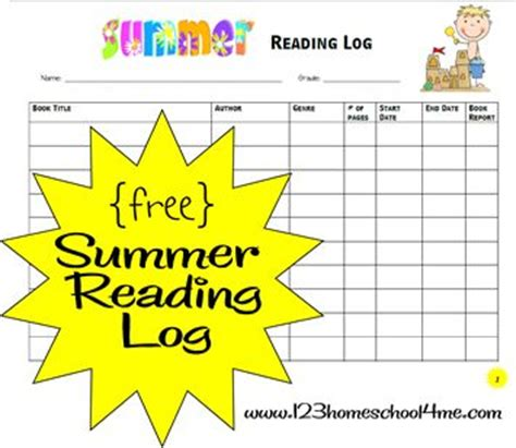 reading incentive themes free summer reading log and reading incentive ideas