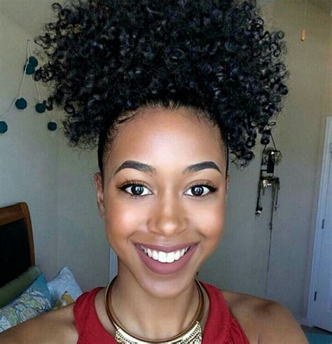hairstyles puff and curls 160g natural hair puff clip in afro kinky curly ponytail