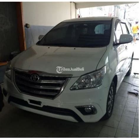 Kunci Kontak Aissy Inova mobil toyota kijang grand innova bekas diesel v putih tahun 2014 semarang jawa tengah dijual