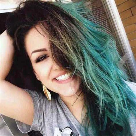 imagenes de mechas verdes 50 cabelos pretos com mechas fotos das mais lindas cores