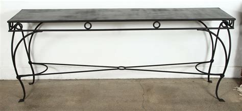 wrought iron sofa table rod iron sofa table sleek modern wrought iron console sofa