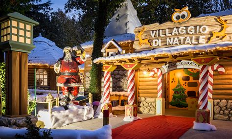 ufficio passaporti roma eur luneur park ecco il villaggio di babbo natale