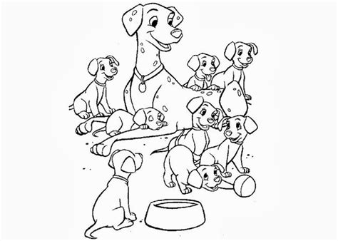 dalmatian puppies coloring pages 101 dalmatian puppies coloring page free coloring pages