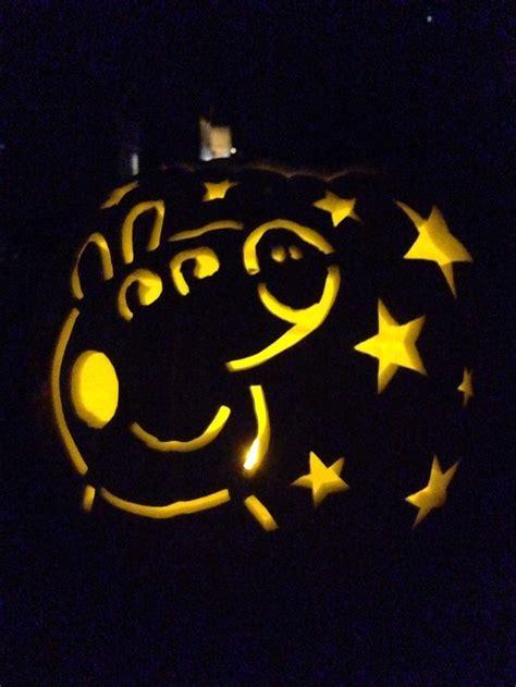 pig pumpkin template peppa pig pumpkin carving