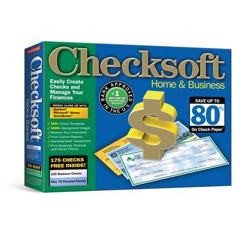 Checksoft Home And Business check writing software business software educational