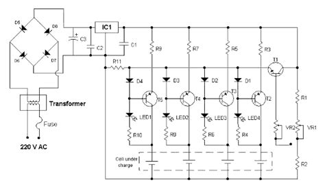 nicd battery charger circuit diagram nicd cell charger