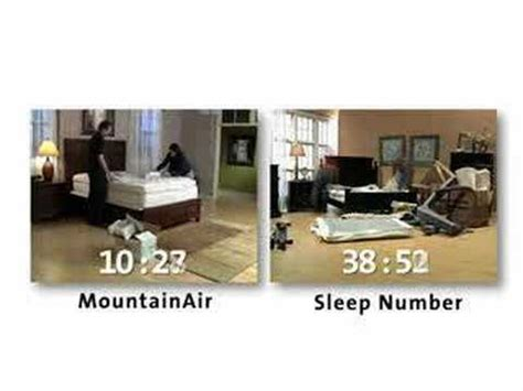 how to put a sleep number bed together sleep number bed vs mountainair youtube