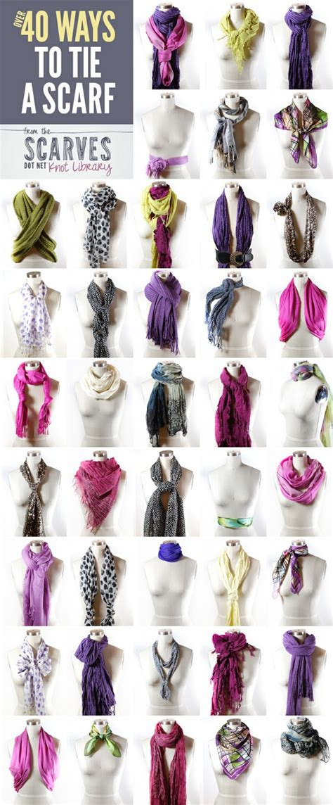 8 Cool Ways To Wear A Scarf by Raising Dudes And A Doll 40 Ways To Tie A Scarf