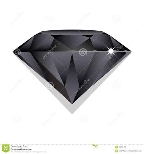 imagenes de negro zafiro black sapphire vector brilliant on white background stock
