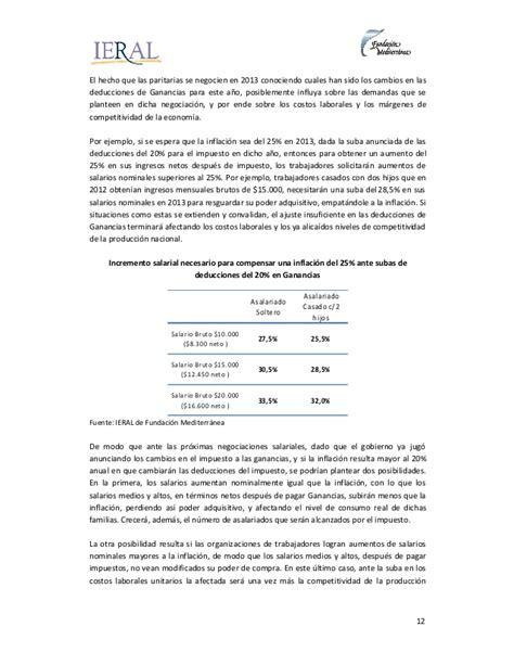 salarios superiores a 793000 deben pagar impuesto de renta ieral el impuesto a las ganancias disminuy 243 el poder