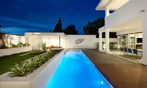 home lap pool the benefits of lap pools and their distinctive designs