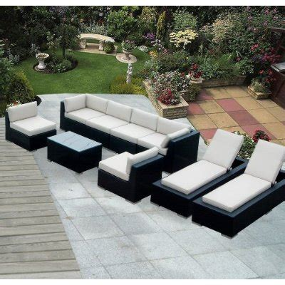 Genuine Ohana Outdoor Sectional Sofa And Chaise Lounge Set Sofa And Chaise Lounge Set