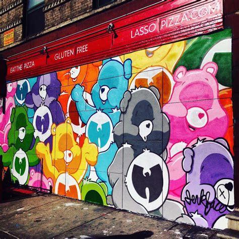Nyc Wall Murals nostalgic 90s street art nyc graffiti