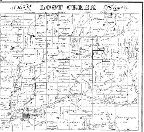 plat maps lost creek township plat map
