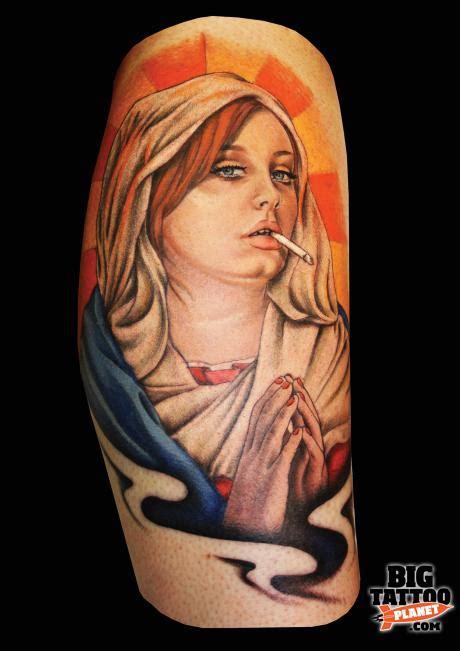 adele tattoo chantale coady electric barbarella colour big