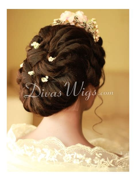 Wedding Hairstyles With Lace Wigs by Wedding Hairstyle Human Hair Lace Wig Ww008 Home