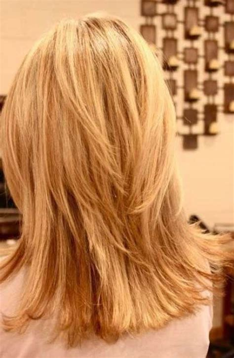 my hair is straight in the back long layered straight hair back view impression hair style