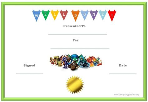 free reward card template 10 best images of reward for behavior certificates