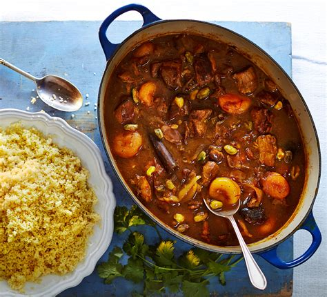 Easy Summer Entertaining Recipes - persian lamb tagine bbc good food