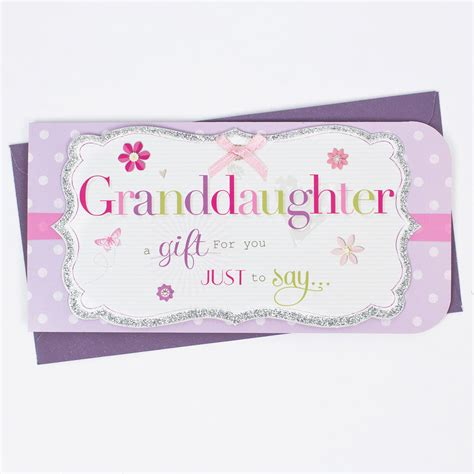 gifts for granddaughters granddaughter a gift for you money wallet only 99p