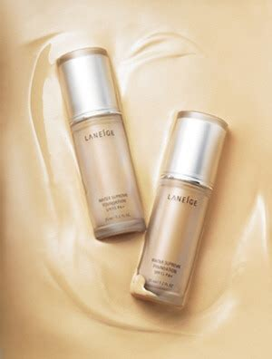 Laneige Water Supreme Foundation updated laneige releases water supreme makeup line foundation primer and pact in a