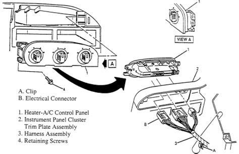 book repair manual 2001 chevrolet lumina seat position control 2001 chevrolet lumina remove hvac controls oem blower motor fan for 2001 chevrolet lumina